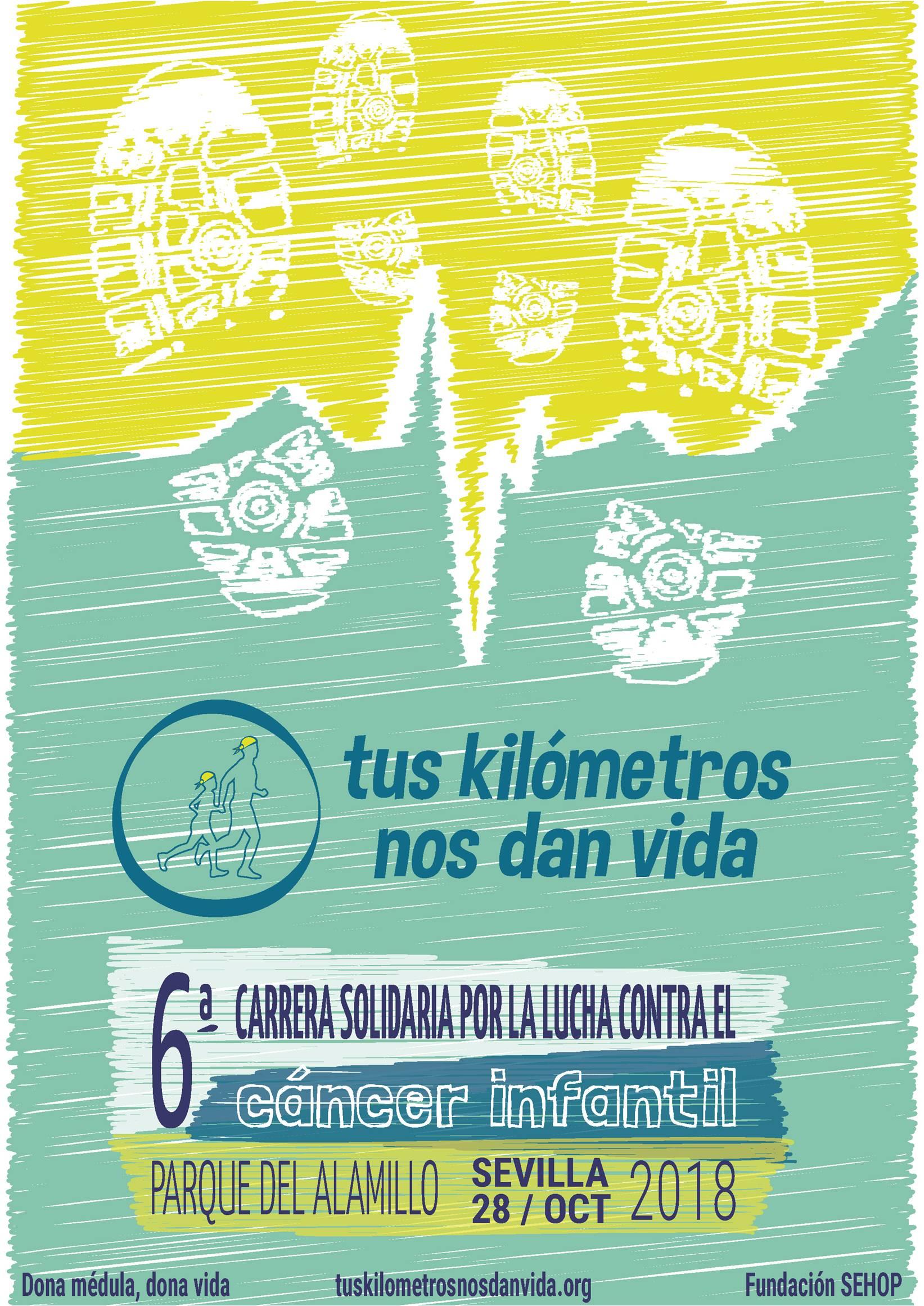 "6ª CARRERA SOLIDARIA"" TUS KILÓMETROS NOS DAN VIDA"""